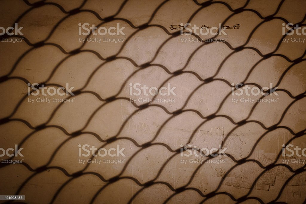 Chainlink fence (Seamless texture) stock photo