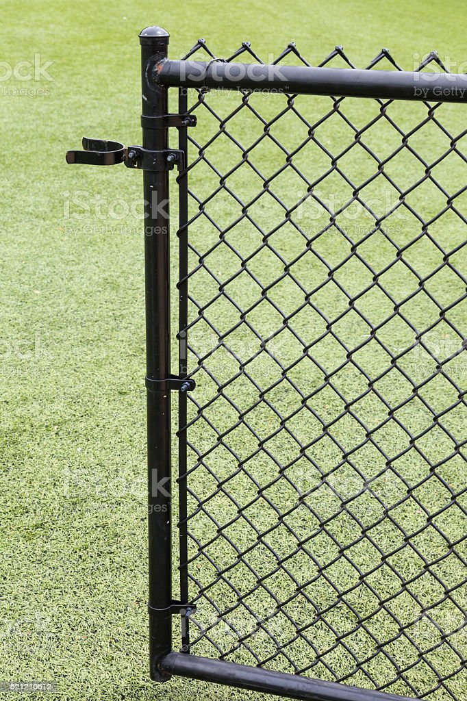 Chain-link stock photo