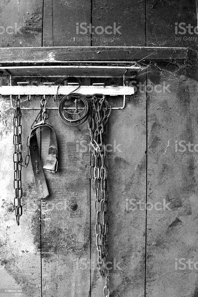 Chains: Loose or Noose stock photo