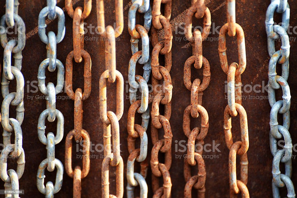 Chains royalty-free stock photo