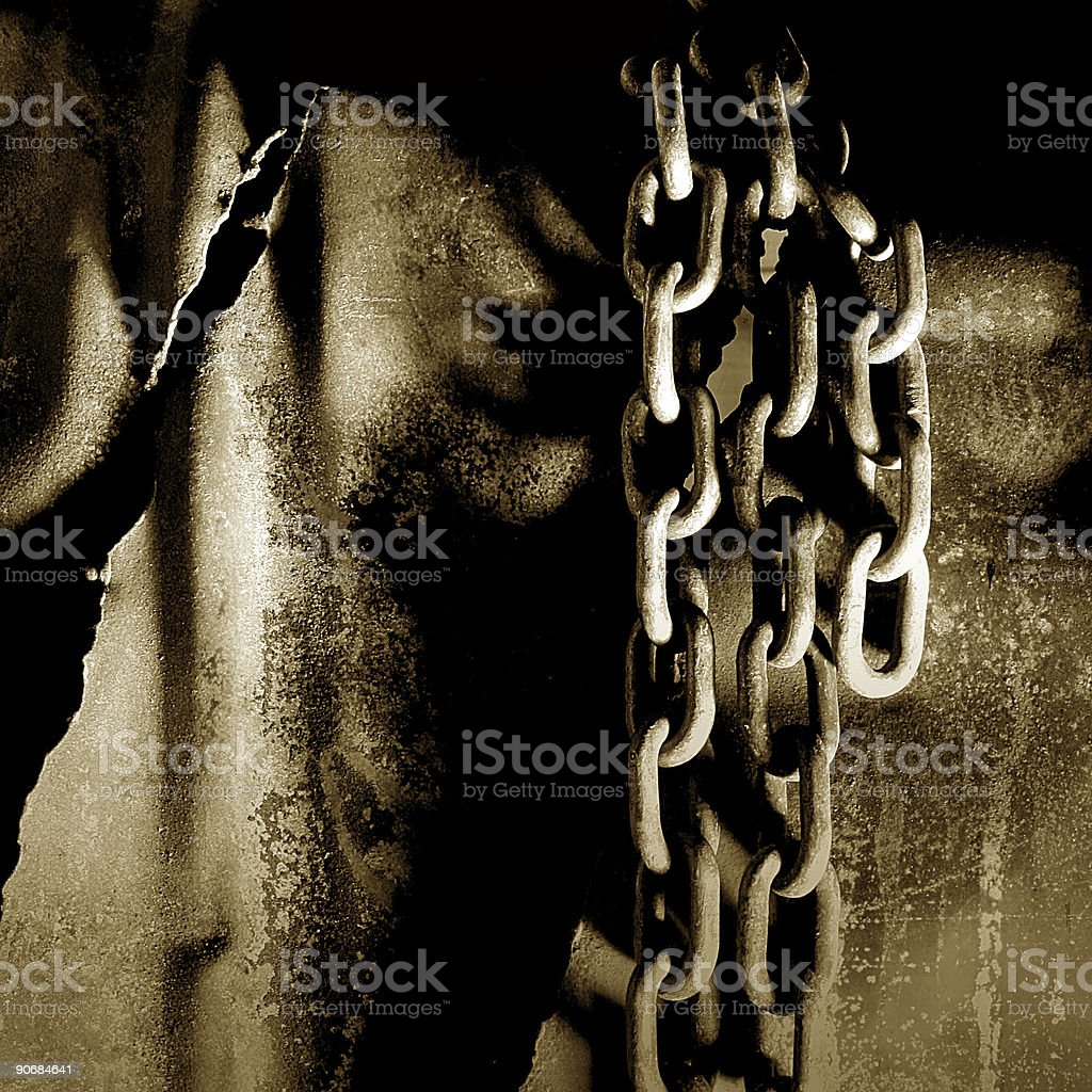 Chains stock photo