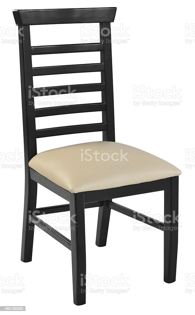Chair. Clipping path stock photo