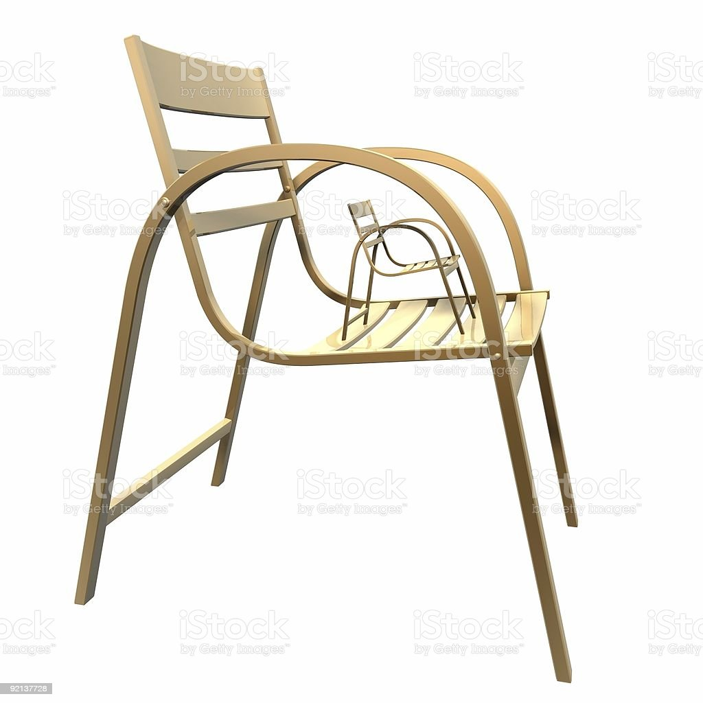 chair family royalty-free stock photo
