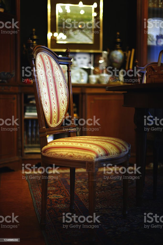 Chair in Living Room. Color Image royalty-free stock photo