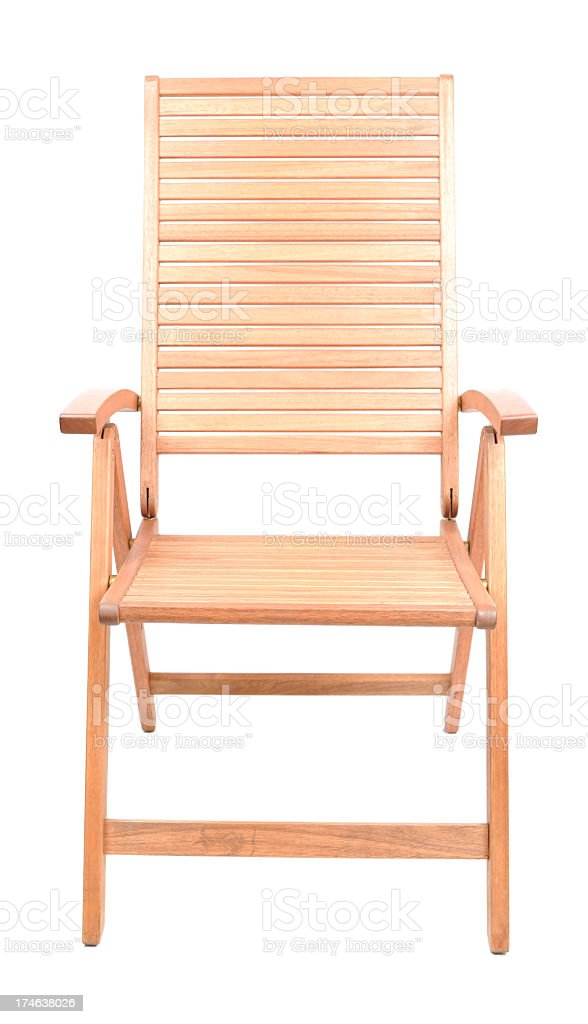 Chair isolated on white royalty-free stock photo