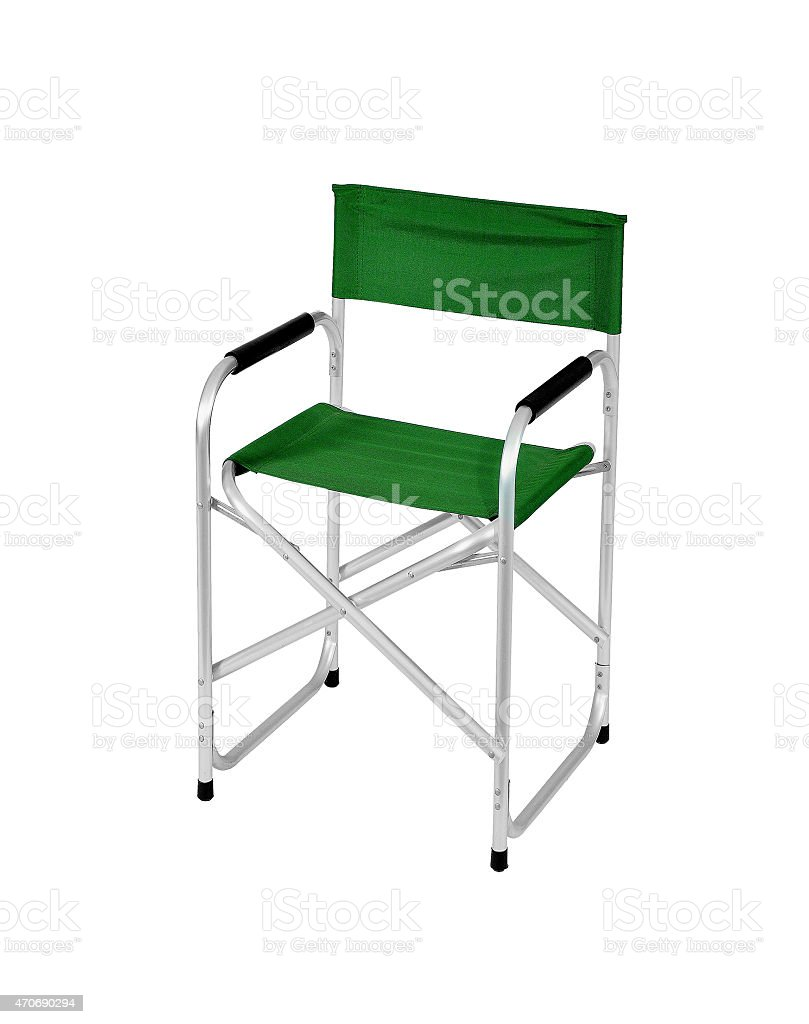 Chair isolated on white stock photo