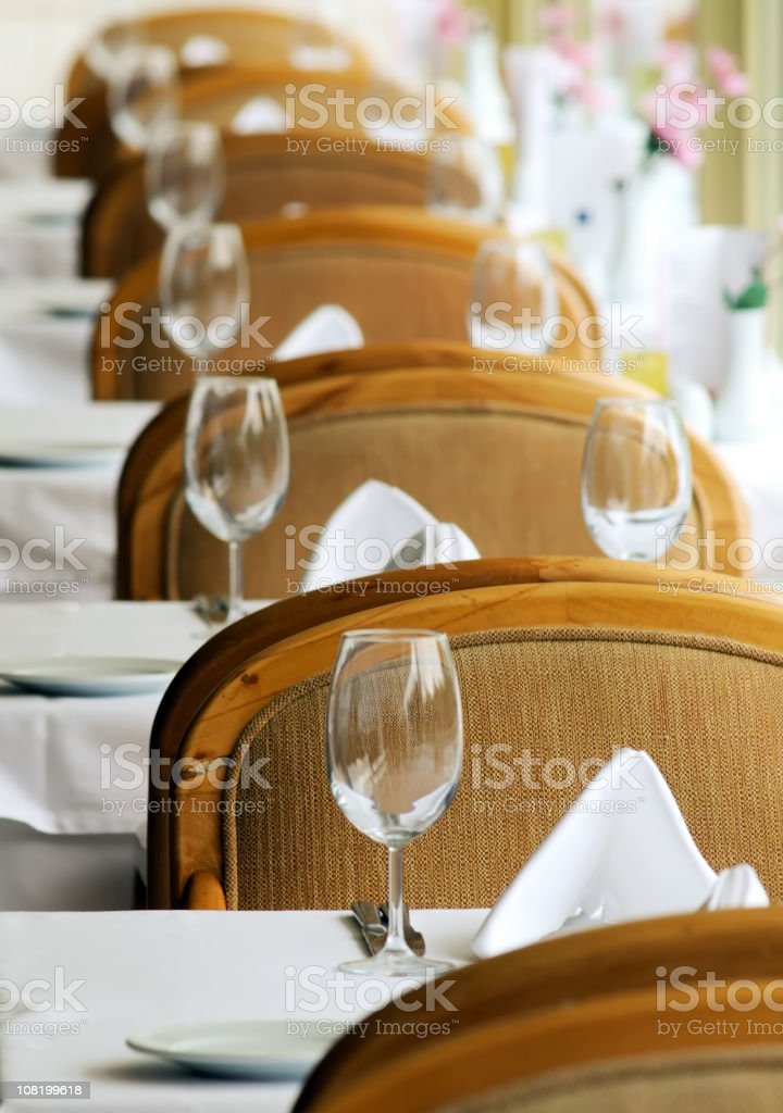 Chair line royalty-free stock photo