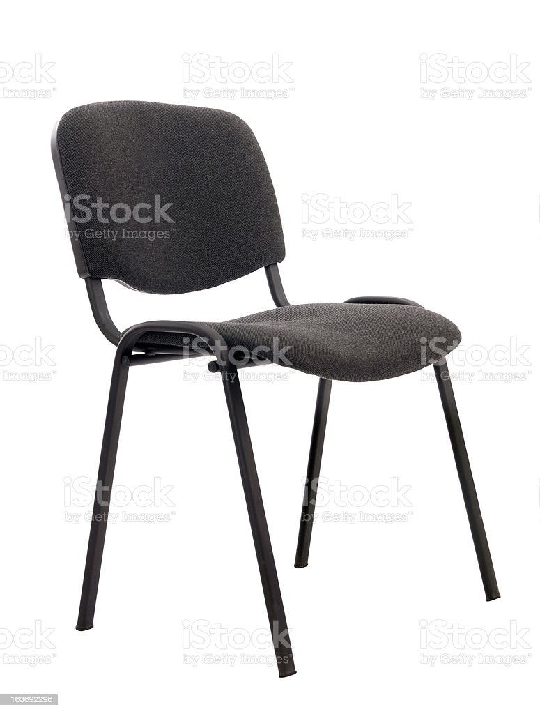 chair on an isolated background royalty-free stock photo