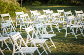 Chair setting for Wedding