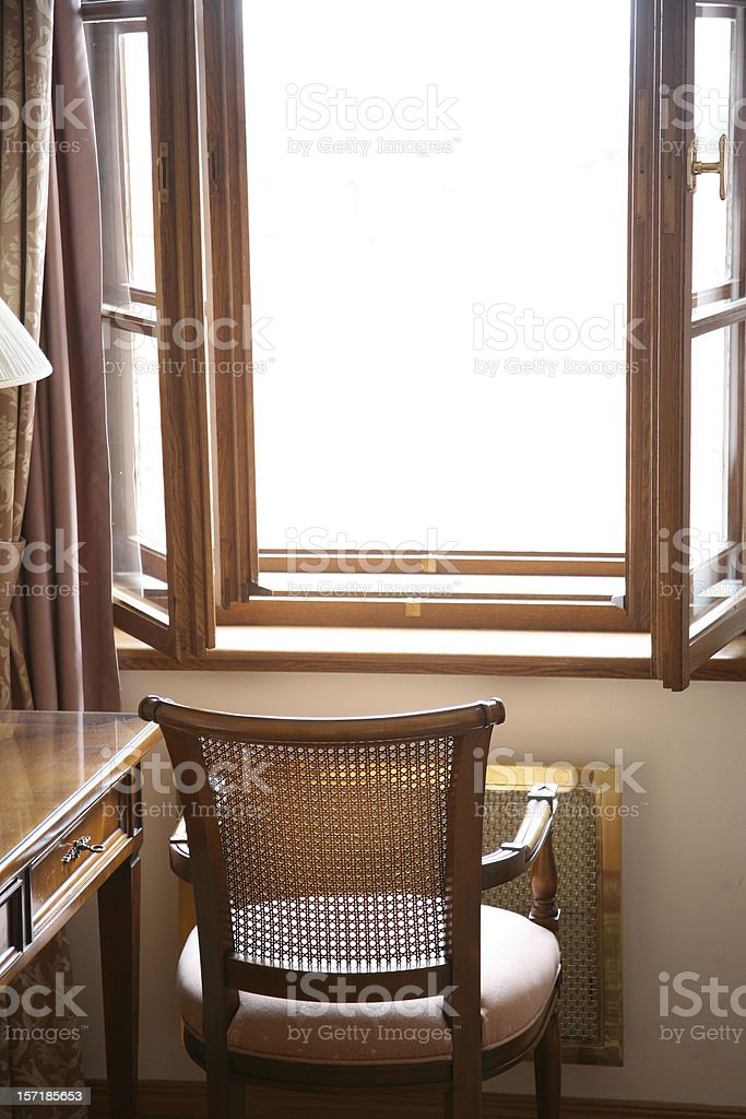 Chair to nowhere royalty-free stock photo