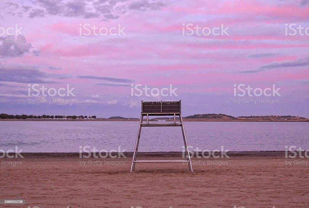 Chair Waiting stock photo