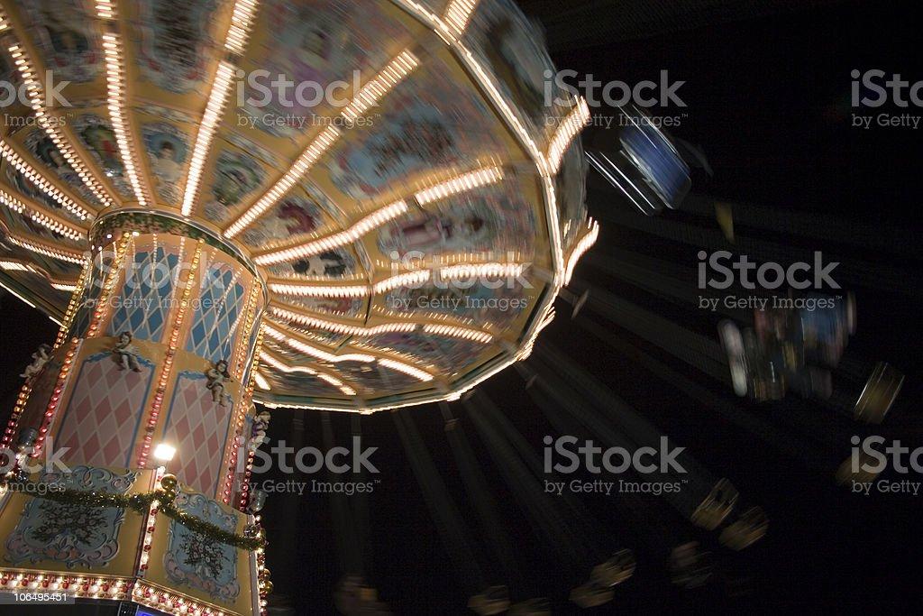 Chairoplane royalty-free stock photo