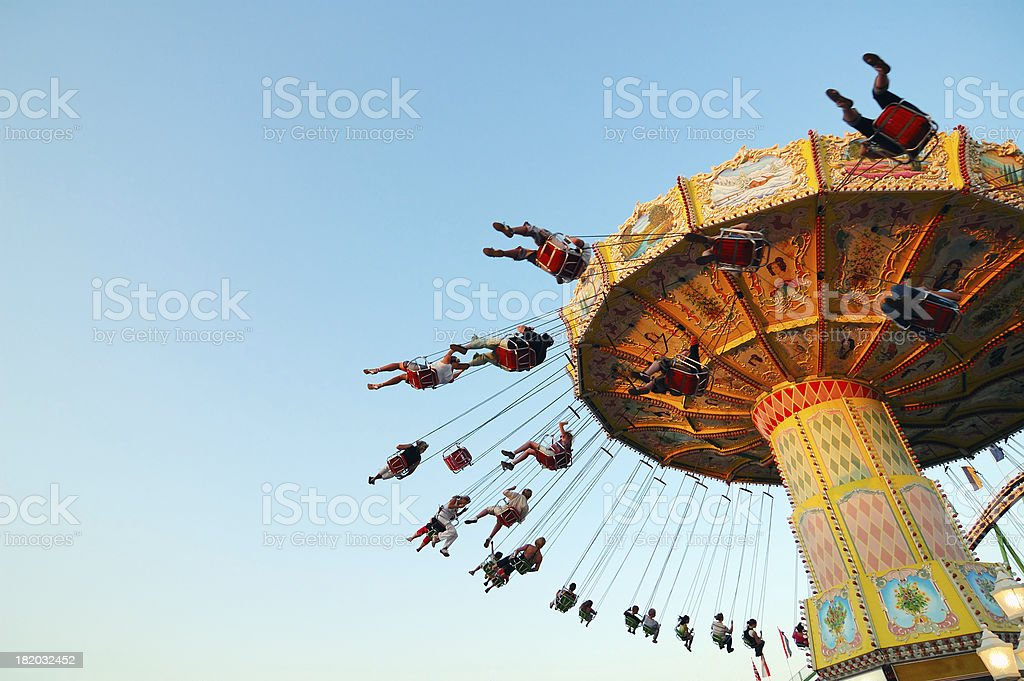 chairoplane royalty-free stock photo