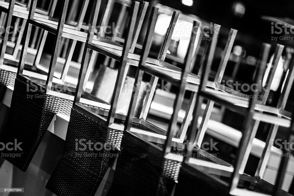 Chairs and Bar Stools stock photo