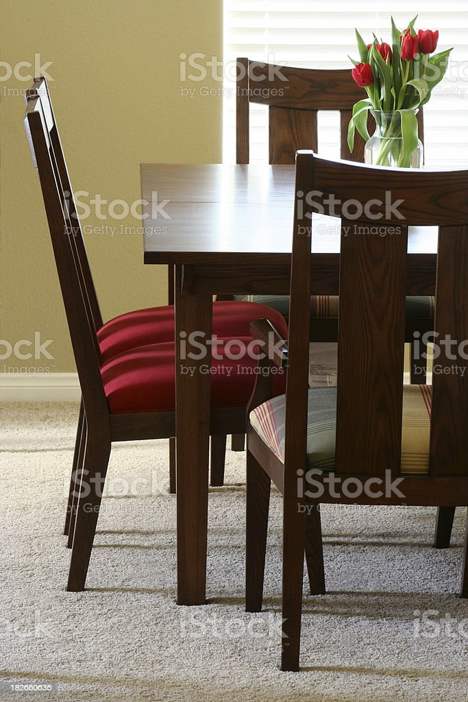 Chairs and Table royalty-free stock photo