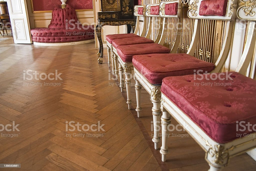 Chairs royalty-free stock photo