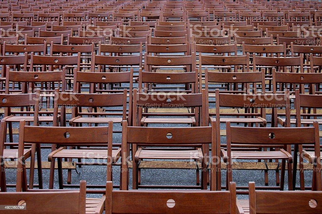 Des chaises photo libre de droits