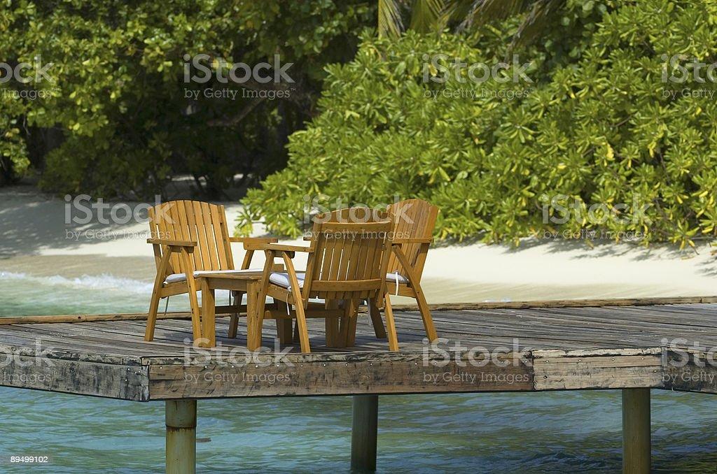 Cadeiras foto royalty-free