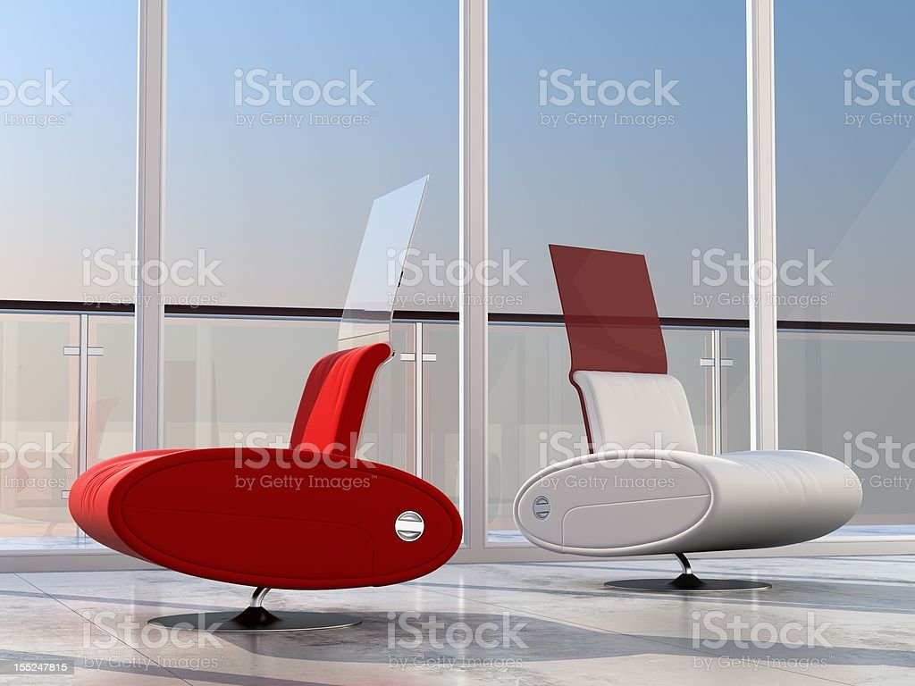 chairs visualization royalty-free stock photo