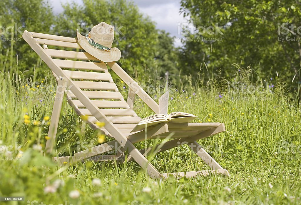 Chaise-longue royalty-free stock photo
