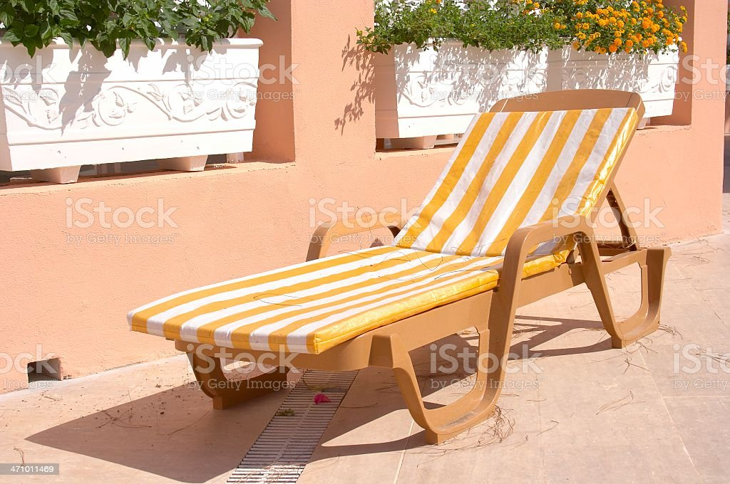 Chaiselongue royalty-free stock photo