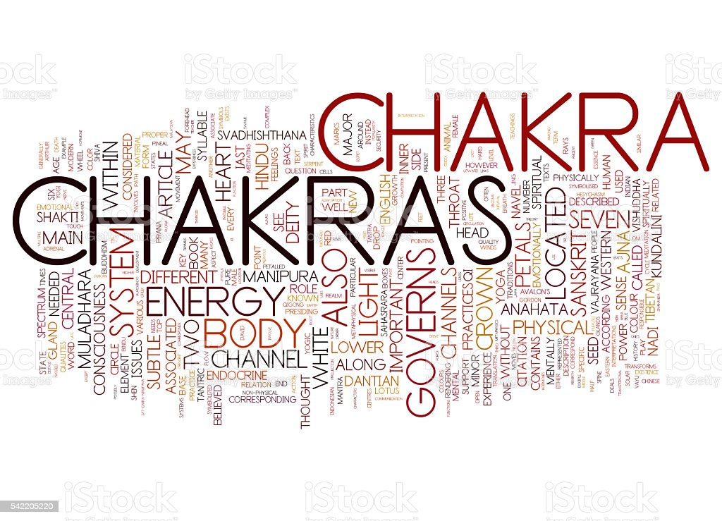 Chakra stock photo