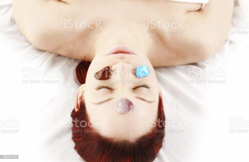 chakra therapy royalty-free stock photo
