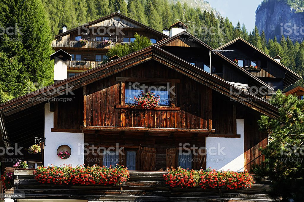 Chalet. Color Image stock photo