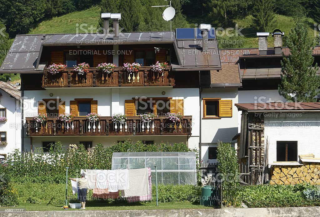 Chalet. Color Image royalty-free stock photo