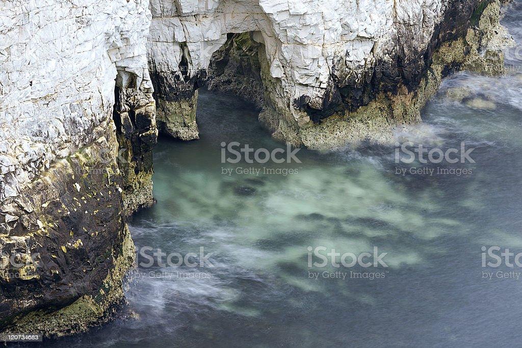 Chalk Cliffs Erosion stock photo