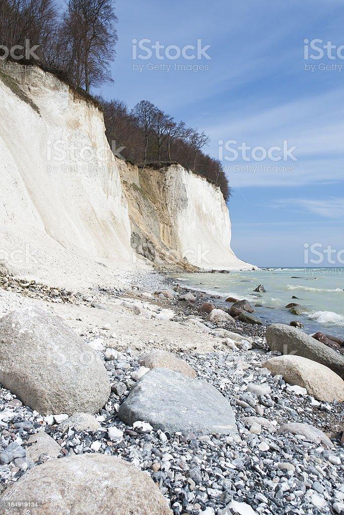 Chalk Cliffs stock photo