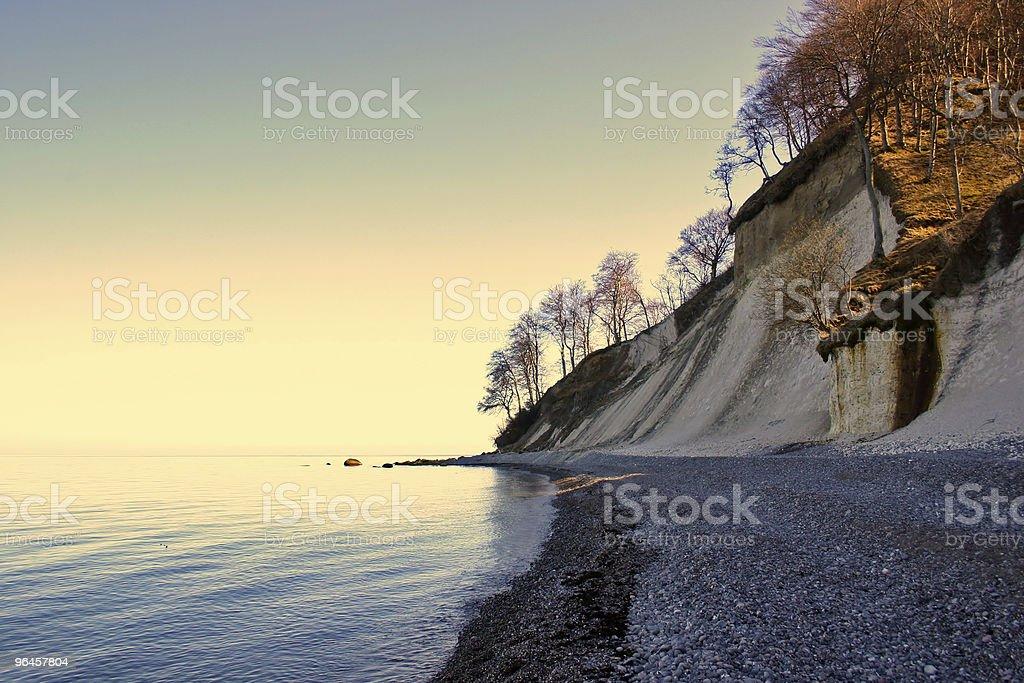 Chalk Coast stock photo