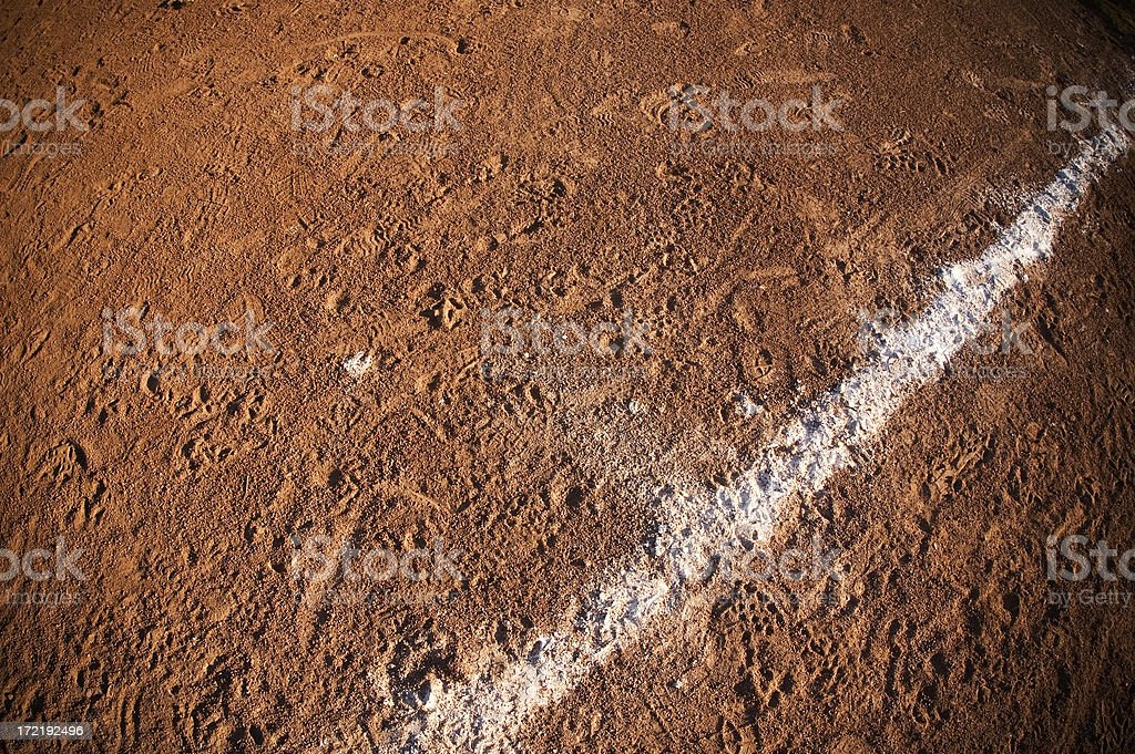 chalk line royalty-free stock photo