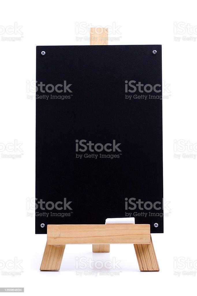Chalk menu board royalty-free stock photo