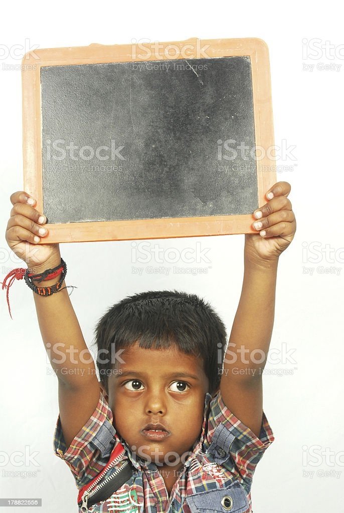 Chalk Slate royalty-free stock photo