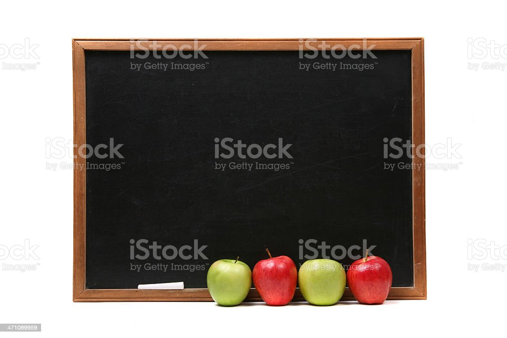Chalkboard backgound royalty-free stock photo