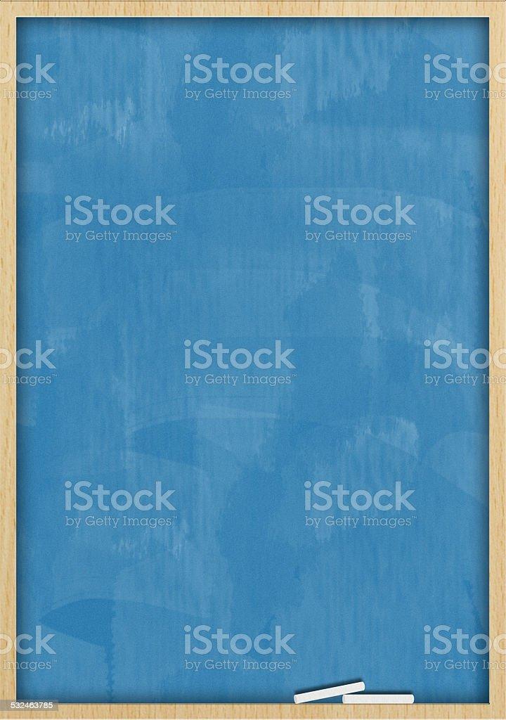 Chalkboard blackboard / Blue background (Click for more) stock photo
