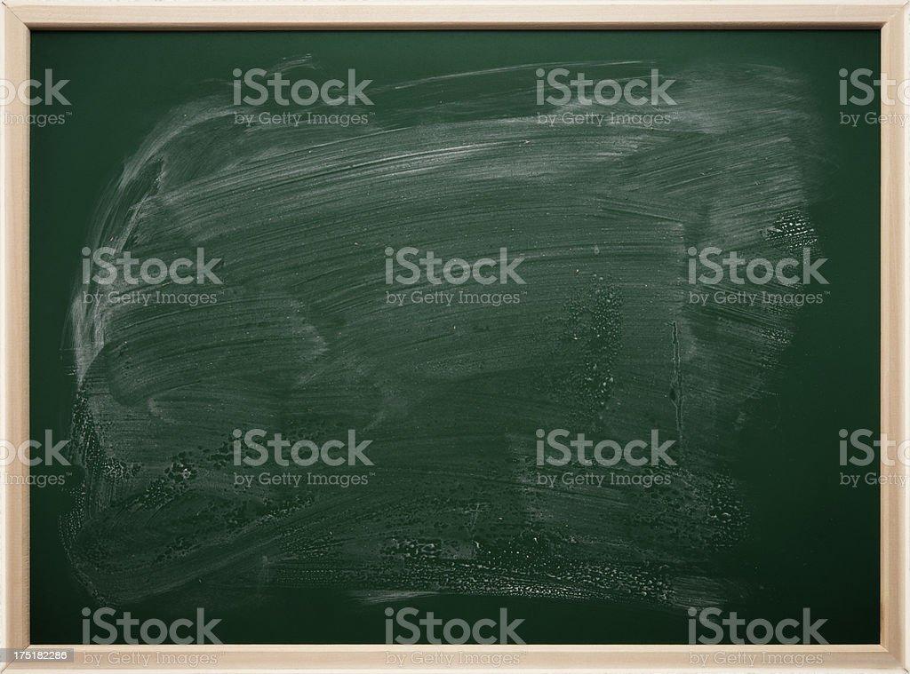 Chalkboard blackboard - green texture royalty-free stock photo