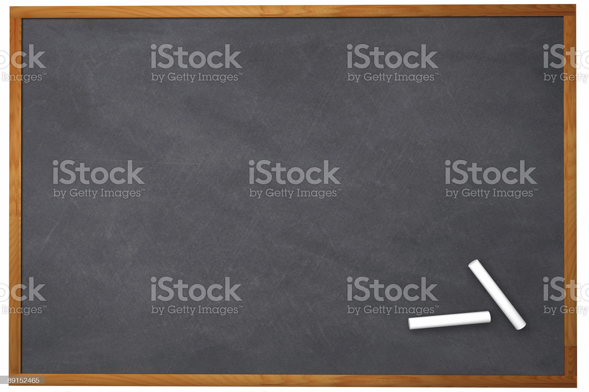 3D Chalkboard royalty-free stock photo