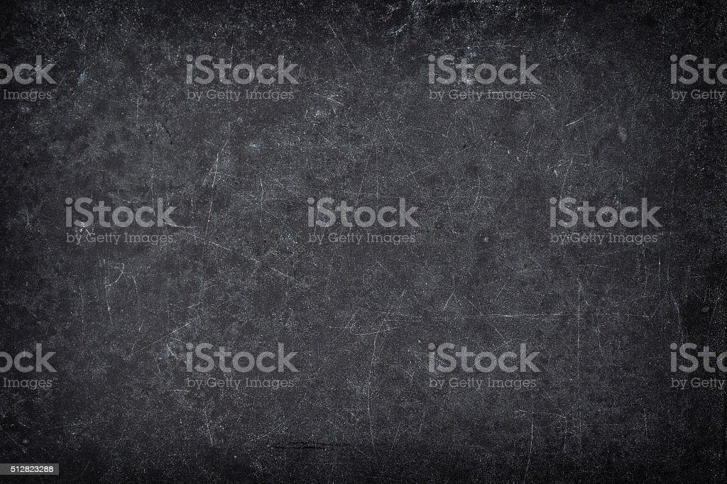 Chalkboard texture. Dark blackboard backgroud stock photo
