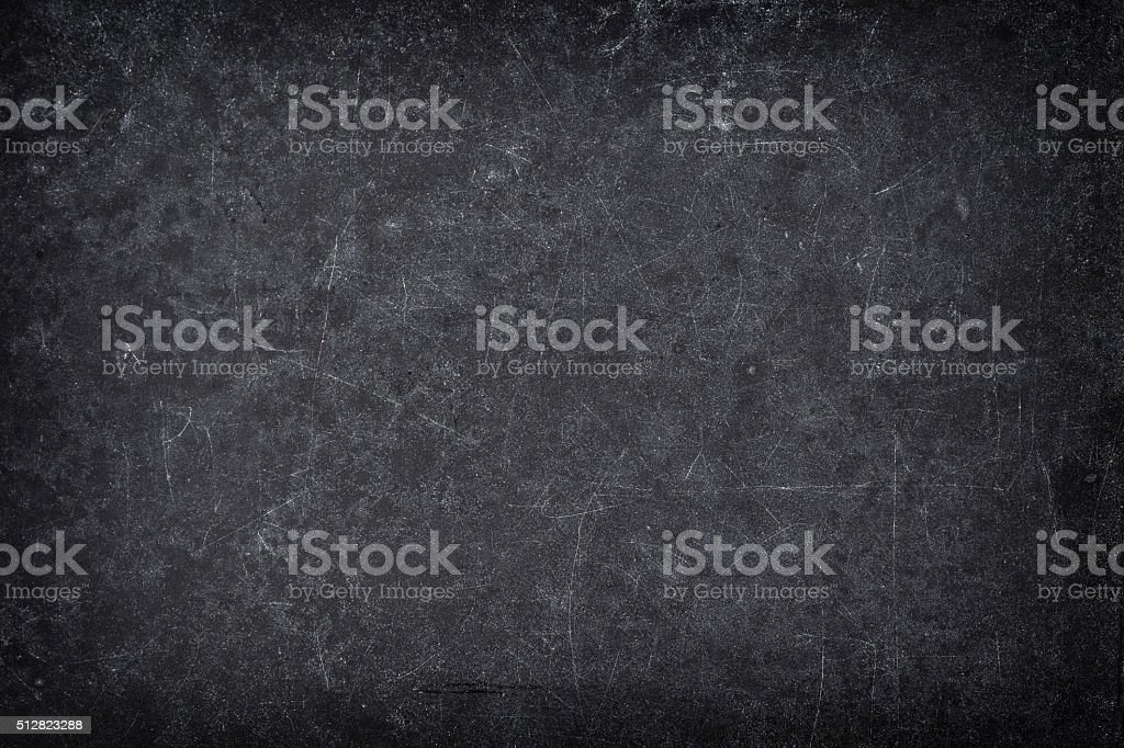 Chalkboard texture. Dark blackboard backgroud stock photo