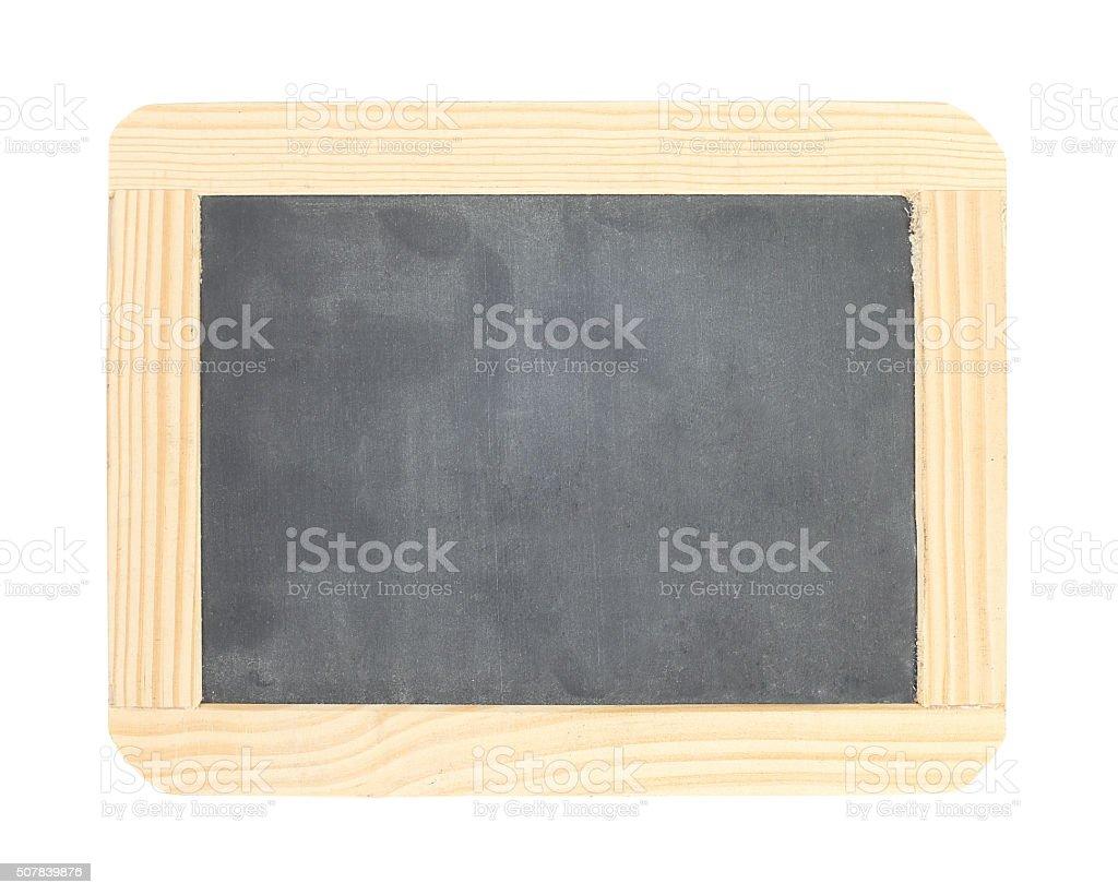 Chalkboard con bastidor de madera foto de stock libre de derechos