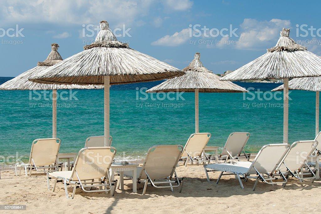 Chalkidiki: Greek Carribeans stock photo