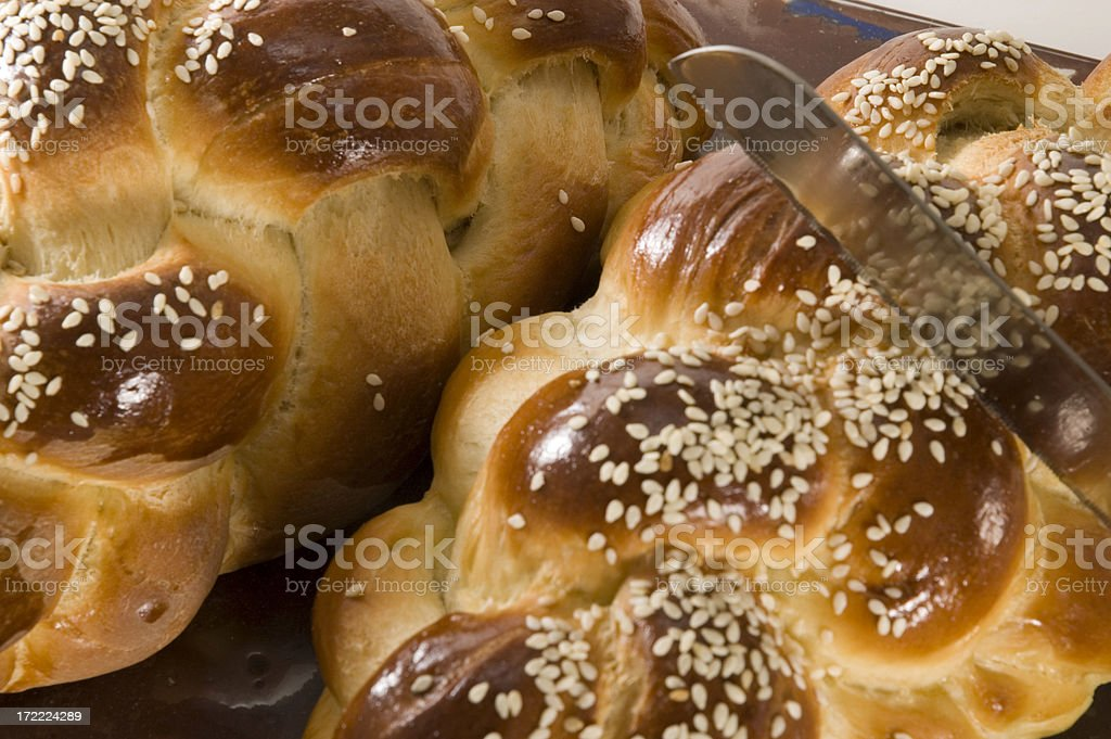 challa for shabbos royalty-free stock photo