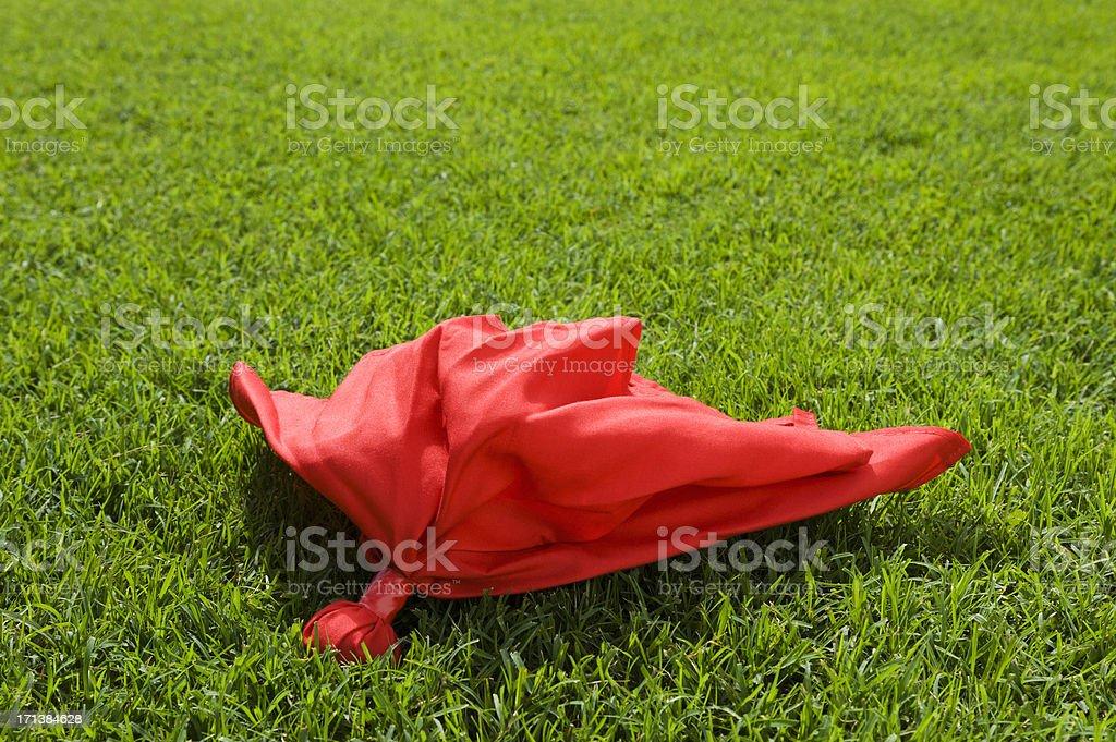 Challenge Flag - American Football stock photo