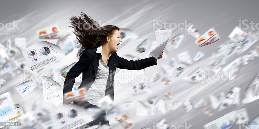 Challenge in business stock photo