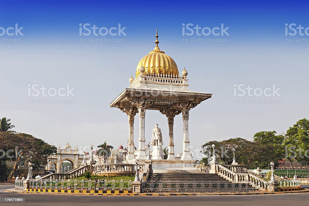 Chamarajendar Woodeyar stock photo