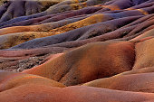 Chamarel seven coloured earths on Mauritius