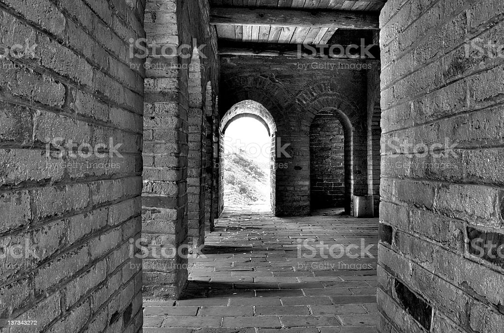 Chamber of Arches royalty-free stock photo