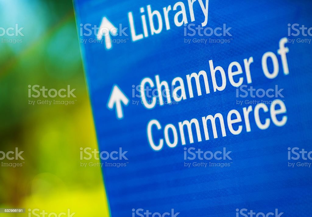 Chamber of Commerce stock photo
